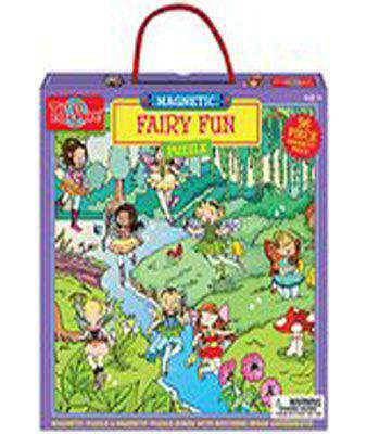T.S. Shure Fairy Fun Magnetic Puzzle (56 Piece)