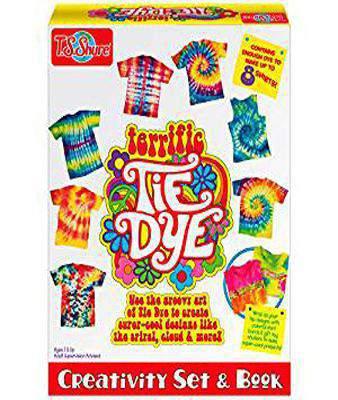 T.S. Shure Terrific Tie Dye Creativity Set and Book