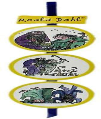Roald Dahl Bookmark The Twits