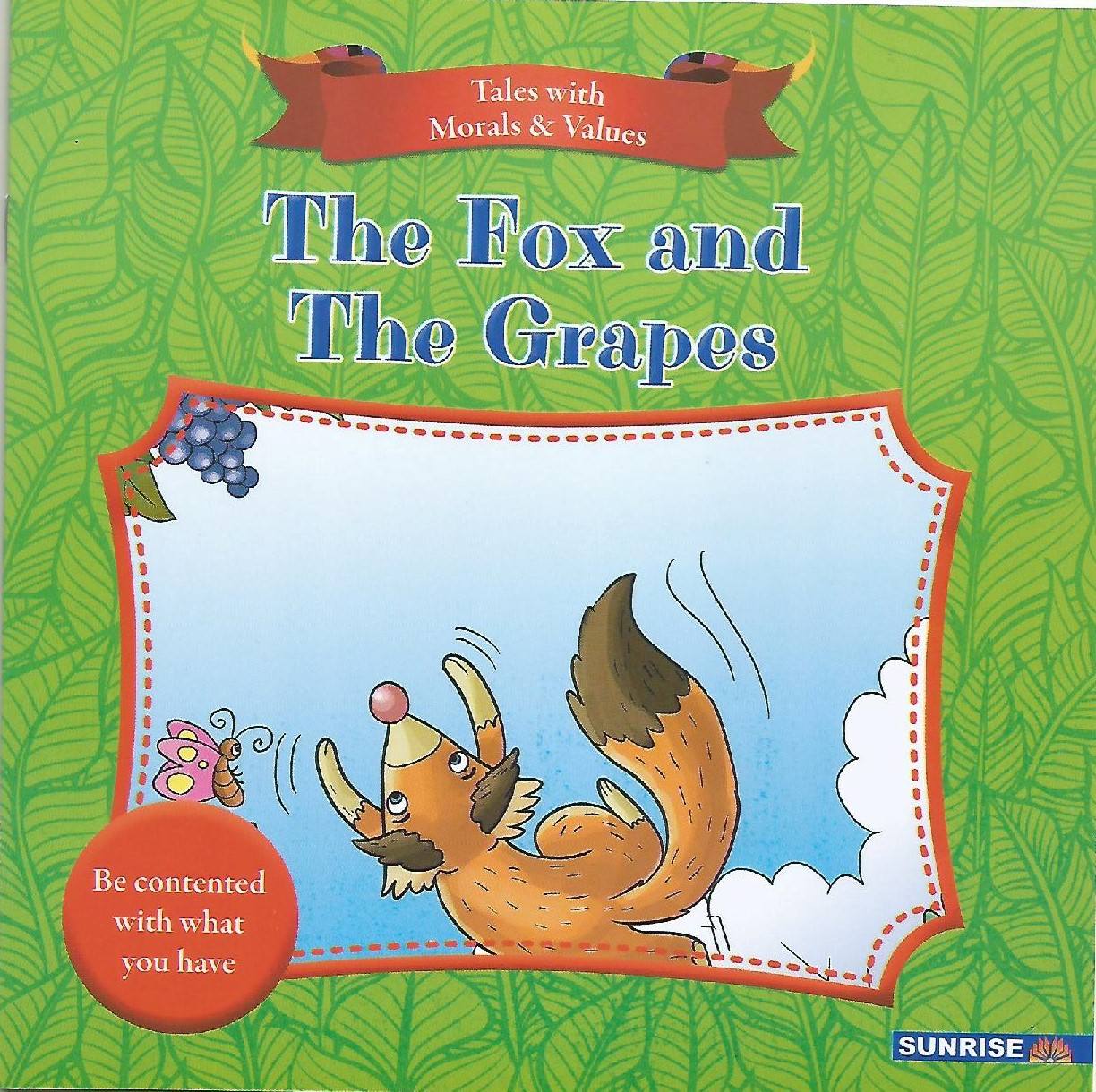 Tales With Moral Values - The Fox And The Grapes - (PB)