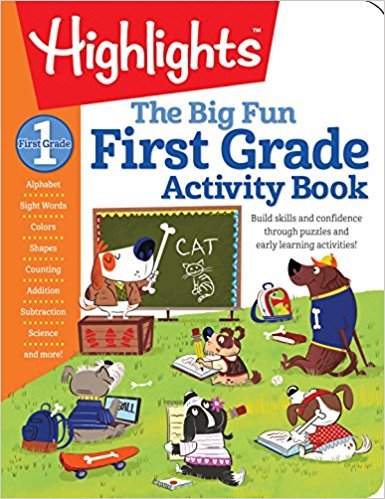The Big Fun First Grade Activity Book: Build skills and confidence through puzzles and early learning activities!