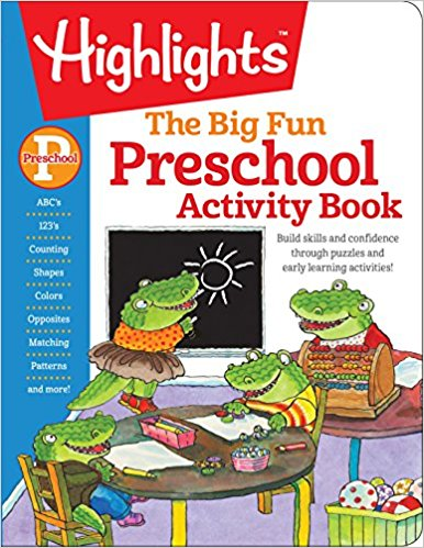 The Big Fun Preschool Activity Book: Build skills and confidence through puzzles and early learning activities