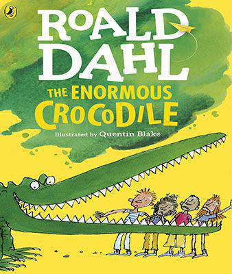 The Enormous Crocodile Dahl Fiion - (PB)