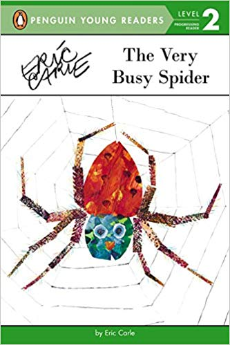 The Very Busy Spider (Penguin Young Readers, Level 2)  -  (PB)