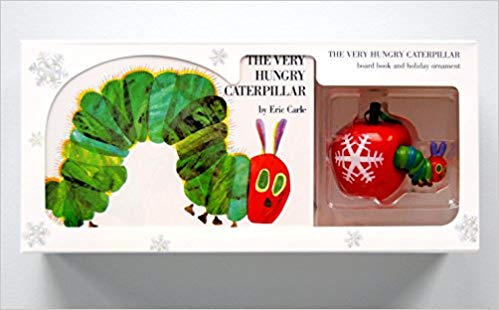 The Very Hungry Caterpillar Board Book and Ornament Package - (BB)