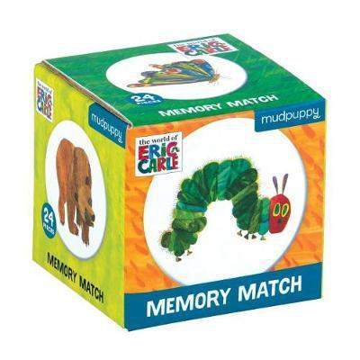 The World of Eric Carle the Very Hungry Caterpillar and Friends Mini Memory Match Game - (puzzles)