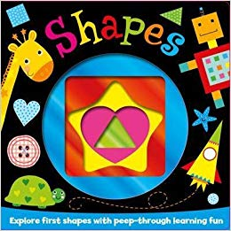 My First Shapes Foiled Board