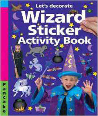 Wizard Sticker Activity Book (Lets Decorate)