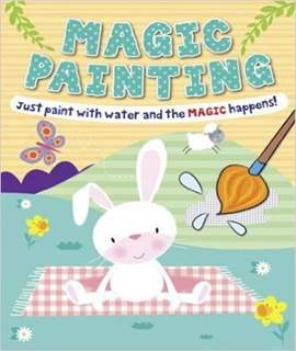 Magic Painting Bunny: Just Paint with Water and the Magic Happens