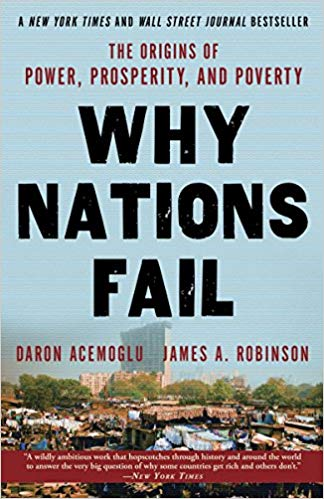 Why Nations Fail The Origins of Power Prosperity and Poverty - (PB)