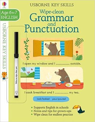 Wipe-Clean Grammar & Punctuation 6-7 (Key Skills)  - (PB)