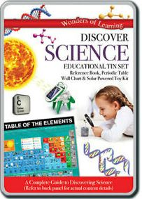 Wonders of Learning: Discover Science Educational Tin Set