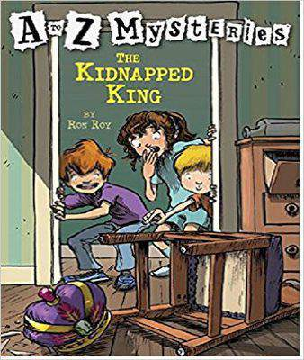 A To Z Mysteries: The Kidnapped King    -   (PB)