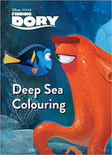 Disney Pixar Finding Dory Deep Sea Colouring