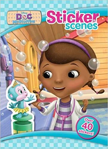 Disney Junior Doc McStuffins Sticker Scenes