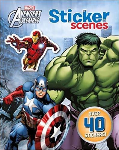 Marvel Avengers Assemble Sticker Scenes: Over 40 stickers!