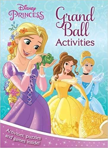 Disney Princess Grand Ball Activities: Activities, Puzzles and Games Inside!
