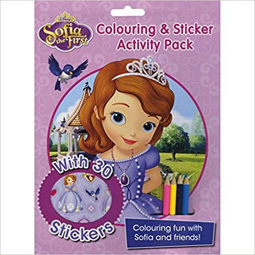 Disney Sofia the First Colouring and Sticker Activity Pack: Over 30 Stickers; Colouring Fun with Sofia and Friends!