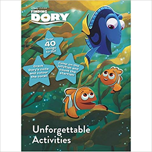Disney Pixar Finding Dory Unforgettable Activities