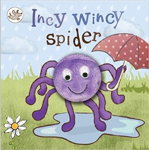 Little Learners Incy Wincy Spider Finger Puppet Book
