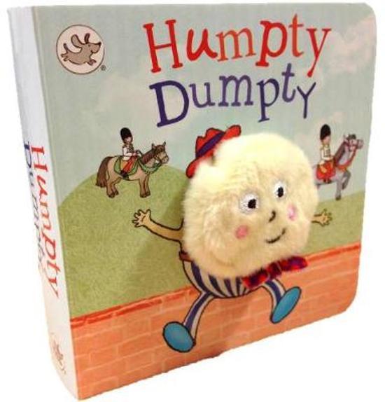 Little Learners Humpty Dumpty Finger Puppet Book