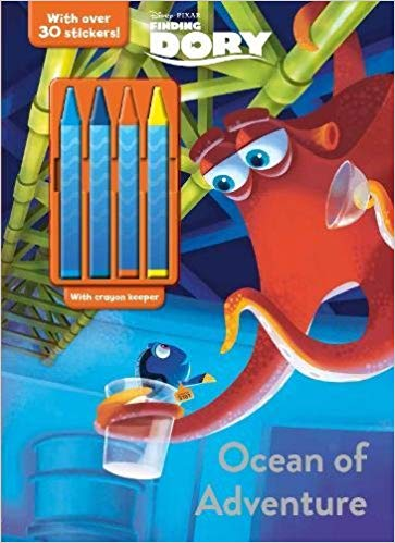 Disney Pixar Finding Dory Ocean of Adventure (Colour & Activity with Crayons)