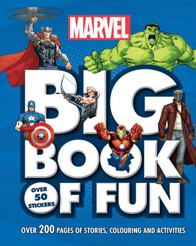 Marvel Big Book of Fun: Over 200 Pages of Stories, Colouring and Activities, with Over 50 Stickers