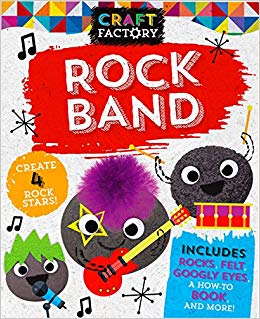 Craft Factory Rock Band: Create 4 Rock Stars!