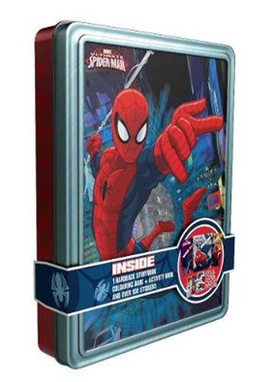 Marvel Ultimate Spider-Man Happy Tin