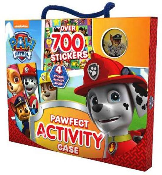Nickelodeon PAW Patrol Pawfect Activity Case: Over 700 Stickers