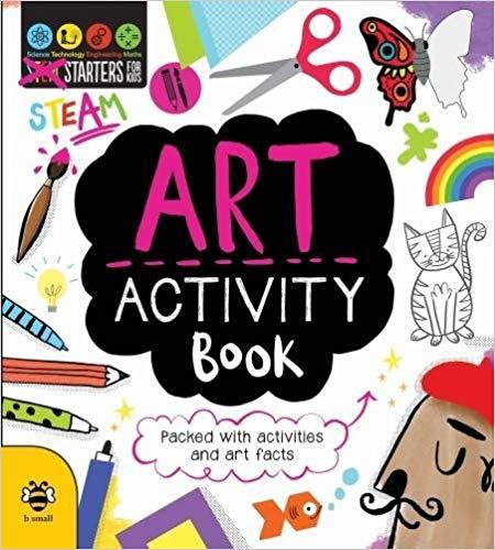 Art Activity Book (STEAM) (STEM STARTERS FOR KIDS)
