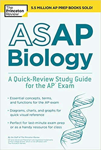 ASAP Biology: A Quick-Review Study Guide for the AP Exam (College Test  Preparation) By : Princeton Review