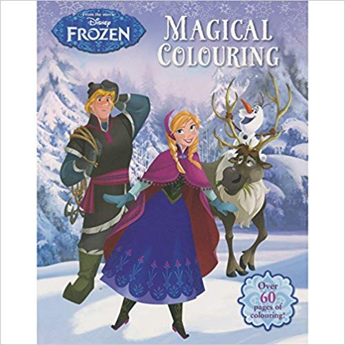 Disney Frozen Magical Colouring