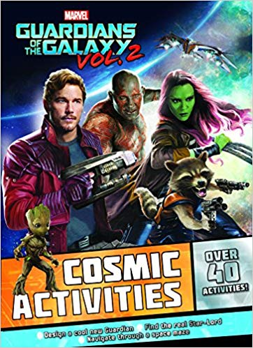 Marvel Guardians of the Galaxy Vol. 2 Cosmic Activities: Over 40 Activities!