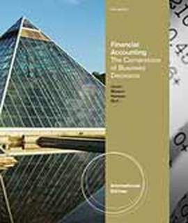 AISE FINANCIAL ACCOUNTING: THE CORNERSTONE OF BUSINESS DECISIONS 2e (pb) 2012