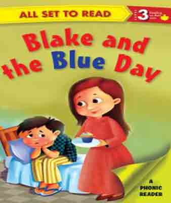 All Set To Read Blake And The Blue Day Level 3   -