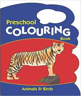 Animals and Birds (Preschool Colouring Books)