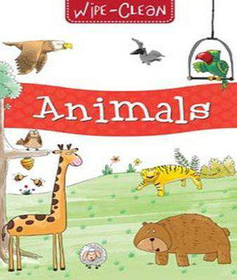 Animals - Wipe & Clean Board Book -