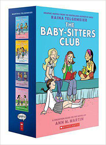 Baby Sitters Clu Kristys Great Idea the Truth About Stacey Mary Anne Saves the Day Claudia and Mean Janine