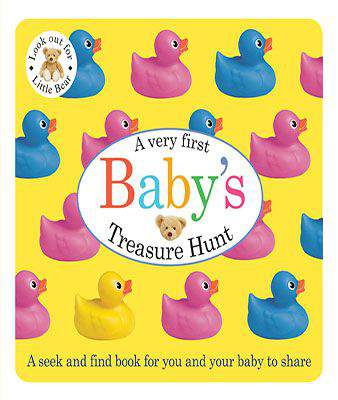 Babys First Treasure Hunt Baby Bath -