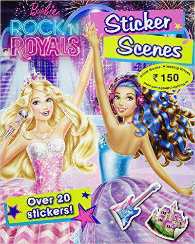 Barbie in Rockn Royals Sticker Scenes