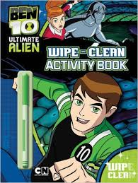 Ben 10 Wipe And Clean
