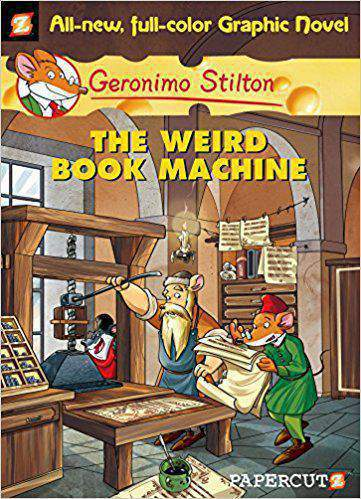 GERONIMO STILTON 09 THE WEIRD BOOK MACHINE GRAPHIC