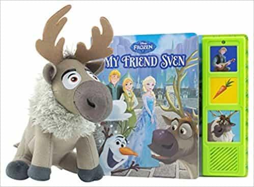 Book Box and Plush Disney Frozen Sven