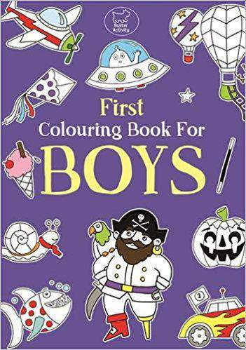 First Colouring Book For Boys Buster Books