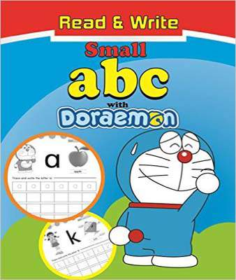 Read & Write Small Abc With Doraemon