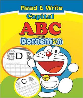 Read & Write Capital Abc With Doraemon