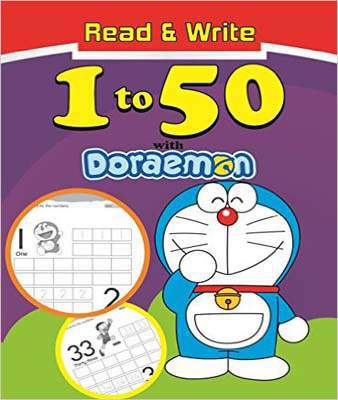 Read & Write 1 To 50 With Doraemon PB