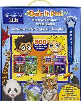 Britannica Kids Quiz It Pen Encyclopedia Book Box