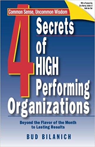 4 Secrets Of High Performing Organizations - [PB]